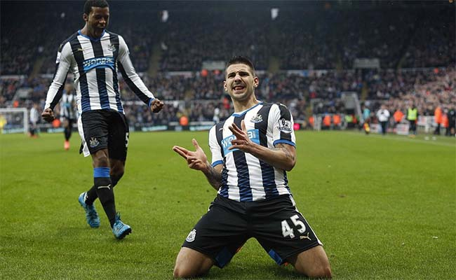 Aleksander Mitrovic Goal Celebration Knees West Brom