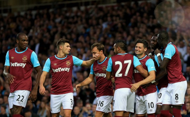 Soccer - Europa League - Third Qualifying Round - First Leg - West Ham United v Astra Giurgiu - Upton Park