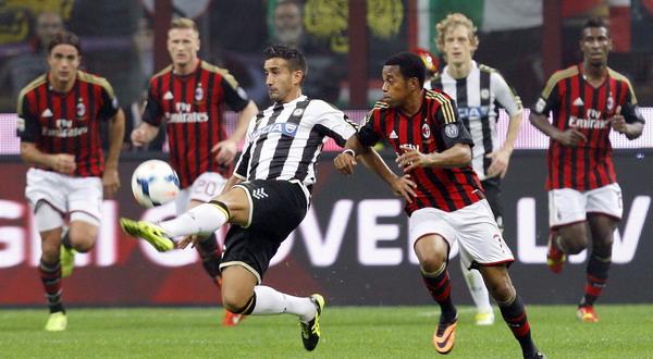Prediksi Udinese vs AC Milan 29 Januari 2017