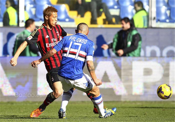 Prediksi AC Milan vs Sampdoria 5 Februari 2017